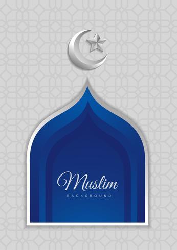 Vector design islâmico, ícone
