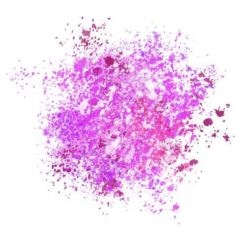 Aquarela splatter fundo vetor