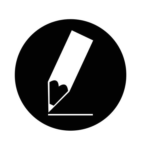 Ícone de lápis vetor