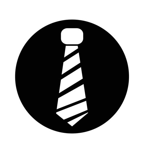 ícone de gravata vetor