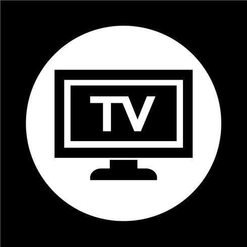 ícone de tv vetor