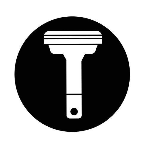 Ícone de barbeadores vetor
