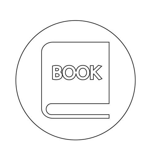 ícone de livro vetor