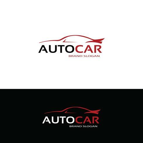 Design de logotipo do carro vetor