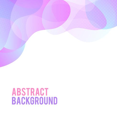 Fundo gradiente moderno abstrato ondas. Efeito dinâmico. Estilo de tecnologia futurista. Modelo de design. vetor