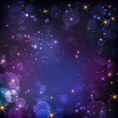 Fundo abstrato galáxia vetor