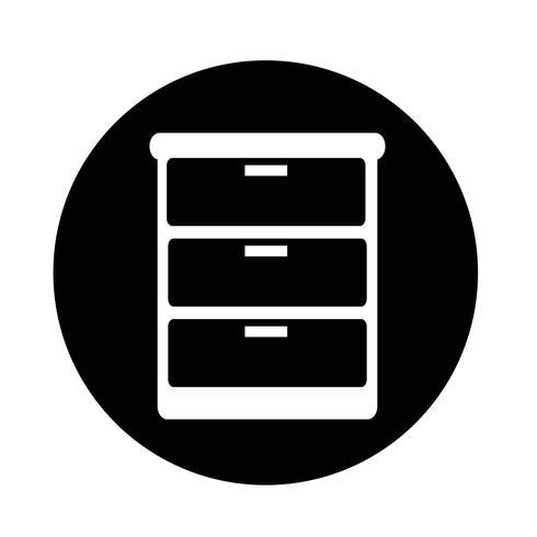 ícone de guarda-roupa vetor