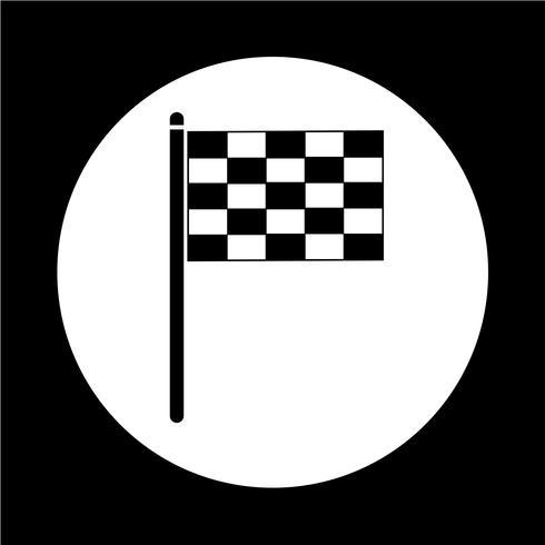 ícone de bandeira vetor
