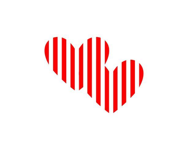 Adoção amor bebê cuidados logotipo e símbolos vector