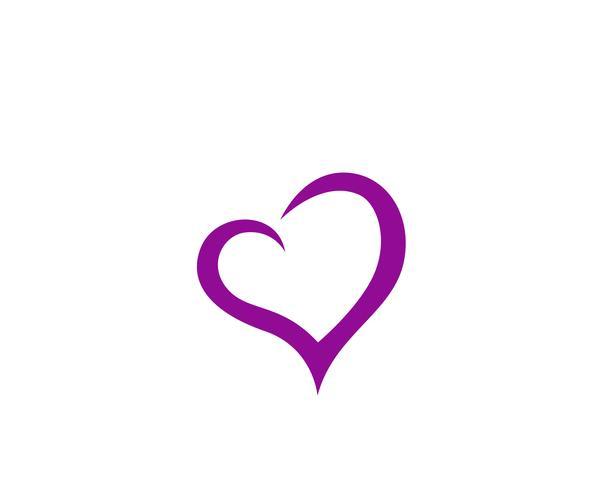 Love Logo and symbols Modelos de vetor ícones