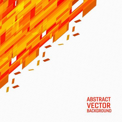 Fundo abstrato geométrico do vetor alaranjado. Textura nova do fundo com projeto de espaço da cópia para seu negócio.