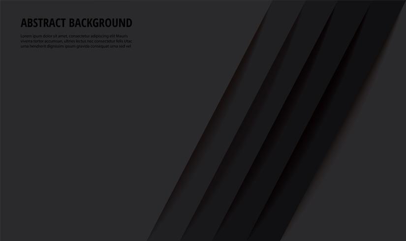 fundo abstrato moderno linhas pretas vetor