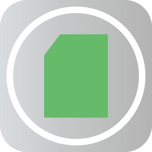Ícone de forma geométrica do vetor