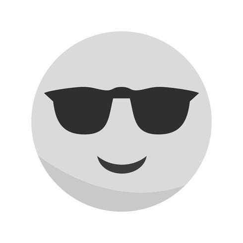 Vector Cool Emoji ícone