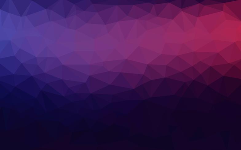 Baixo fundo poli triangular emaranhado geométrico abstrato roxo magenta violeta do gráfico da ilustração do inclinação do estilo. Vector design poligonal para o seu negócio.