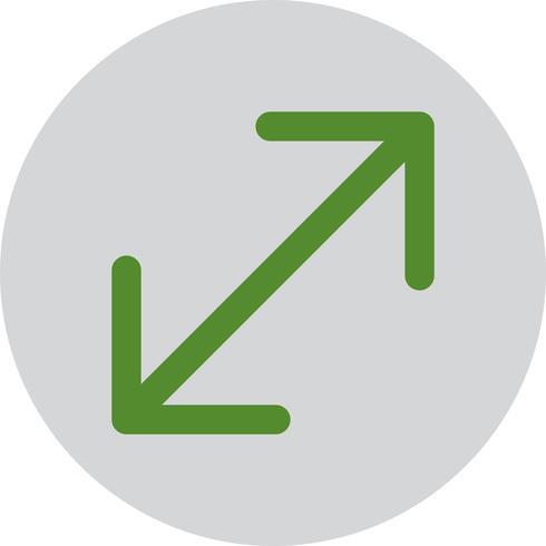 Vector duplo seta ícone