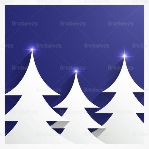 Fundo abstrato do vetor da árvore de Natal