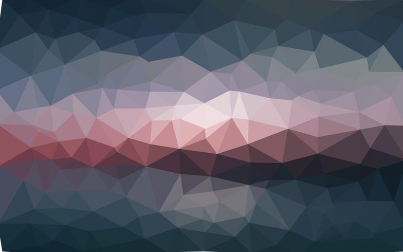 Light dark vector Fundo de cristal de baixo poli. Projeto do polígono pa