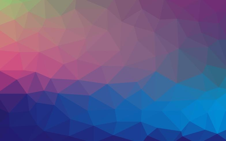 Fundo de formas geométricas. Padrão de mosaico colorido. Vetor
