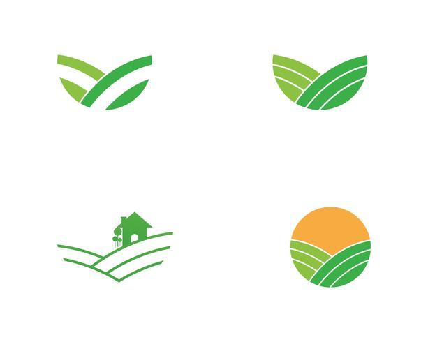 Agricultura de vetor de fazenda