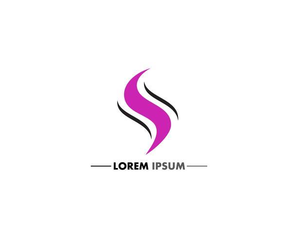 S carta logo e símbolo design vetores