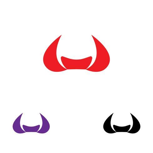 Vaca Logo Template vector ícone
