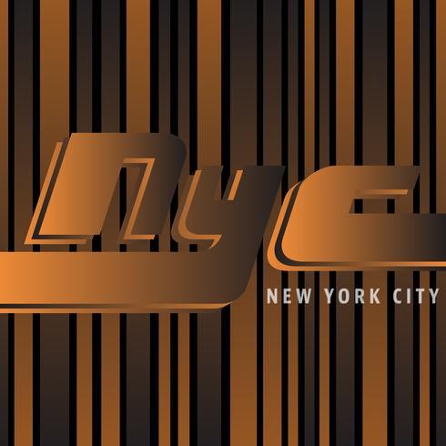 Poster vintage de Nova York vetor