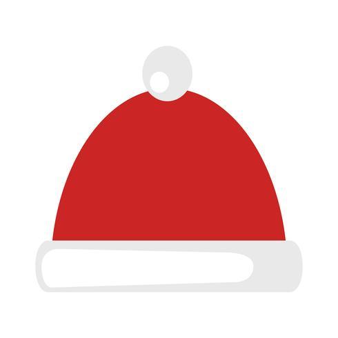 Chapéu de Papai Noel Natal vetor