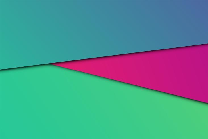 Papéis abstratos coloridos, ilustração vetorial vetor