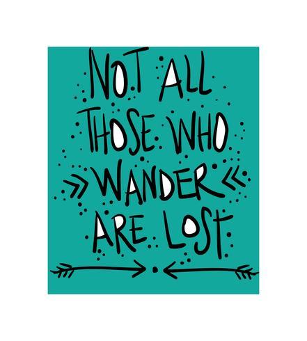 Inspiradora citação motivacional sobre viagens viagem e aventura vetor