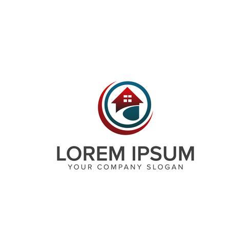 Logotipo de imóveis, logotipo em casa, logotipo da casa, logotipo da propriedade, logotipo de vetor