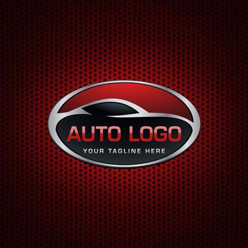 logotipo do emblema automotivo vetor
