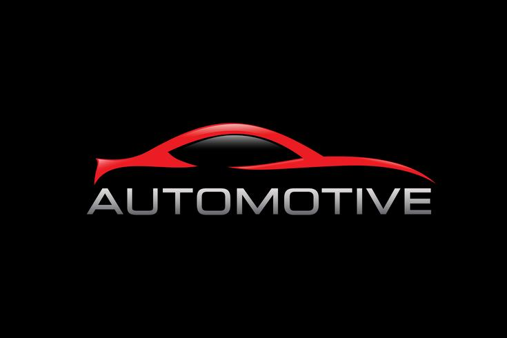 Design de logotipo automotivo vetor