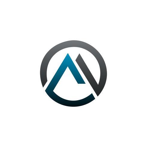 modelo de conceito de design de logotipo imobiliário letra M vetor