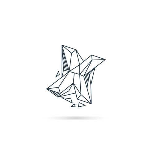 letra de gemstone x logo design ícone modelo vector elemento isolado