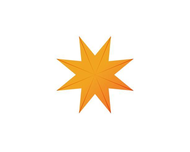 logotipo de círculo de vórtice e ícones de modelo de símbolos vetor