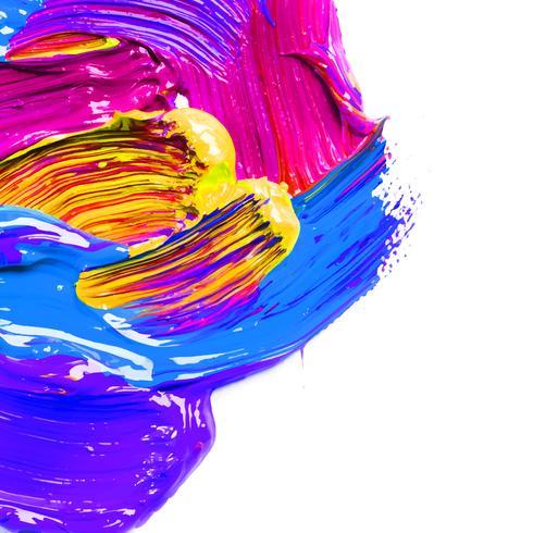 tinta de coloração de água backround vetor