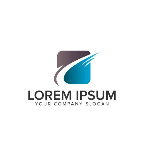 logotipo abstrato de negócios vetor
