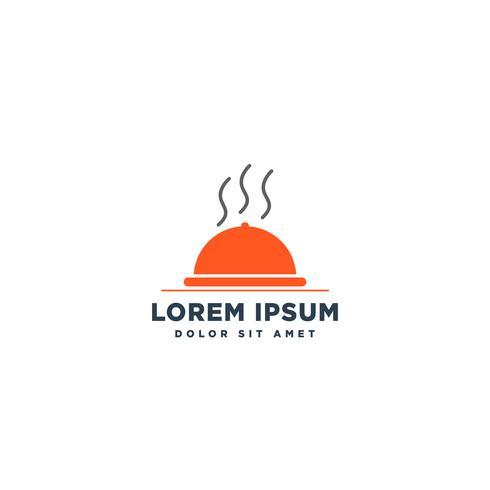 chef de comida logo design vector ícone elemento