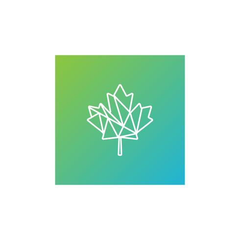 folha verde cannabis logotipo modelo vector ilustração ícone elemento