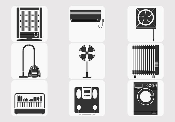 Pacote de vetores de eletrodomésticos