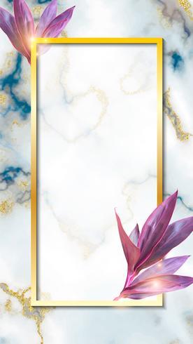 Design de papel de parede de fundo abstrato de mármore vetor