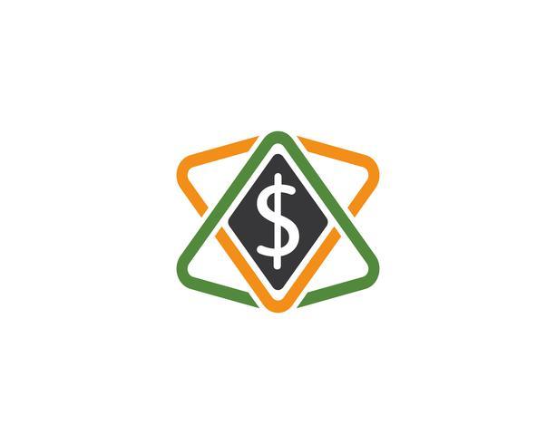 modelo de vetor de logotipo de dinheiro
