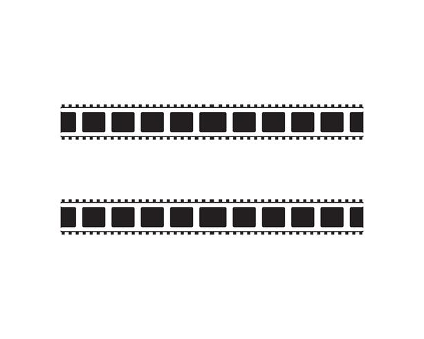 design de modelo de ilustração do vetor abstrato filme ícone