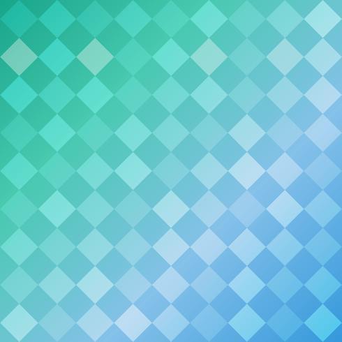 Fundo geométrico azul de losango de formas, padrão em mosaico vetor