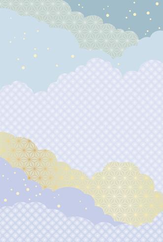Teste padrão abstrato japonês, ilustração do fundo do vetor. vetor