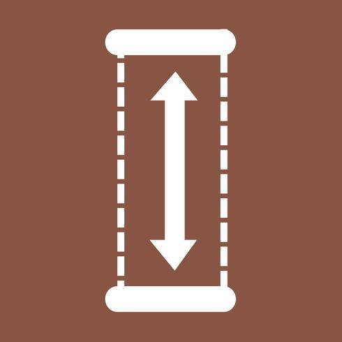 Altura Design Icon Ilustração vetor
