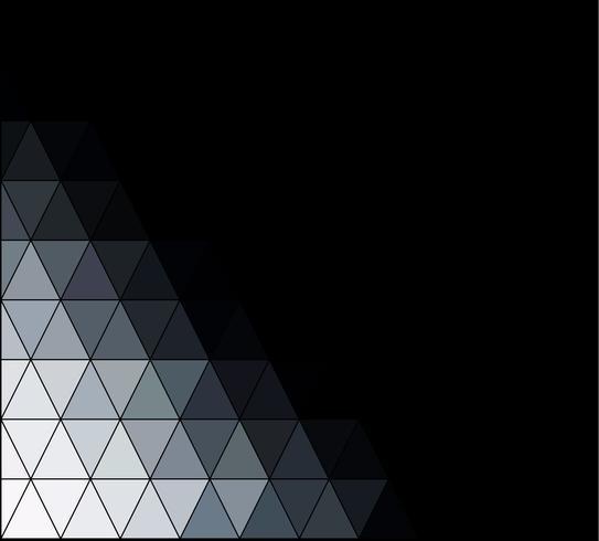 Quadrado de grade quadrada de fundo preto, modelos de Design criativo vetor