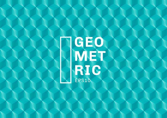 Os polígonos verdes abstratos de turquesa 3D modelam o fundo e a textura. Os triângulos geométricos dão forma à cor azul. Você pode usar para design de capa de modelo, livro, site, banner, publicidade, cartaz, etc. vetor
