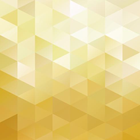 Fundo de mosaico de grade amarelo, modelos de Design criativo vetor